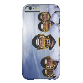 sportsmen standing together with sky in barely there iPhone 6 case