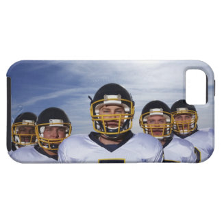 sportsmen standing together with sky in iPhone 5 cover