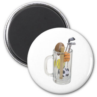 SportsSpectatorKit082909 6 Cm Round Magnet