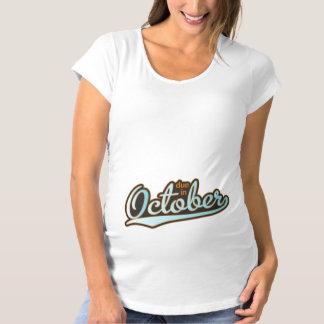 Sporty Baseball October Tshirts