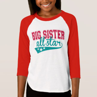 Sporty Big Sister All-Star T-Shirt