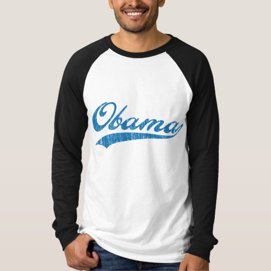Sporty Blue Obama T-Shirt