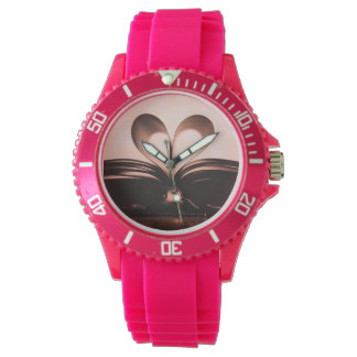 Sporty Book Lover Art Watch