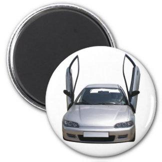 sporty car refrigerator magnets