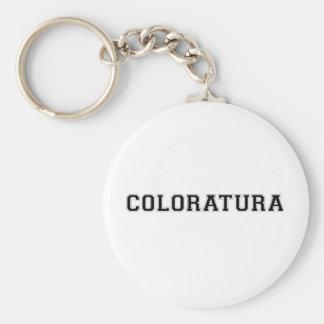 Sporty Coloratura Key Chain