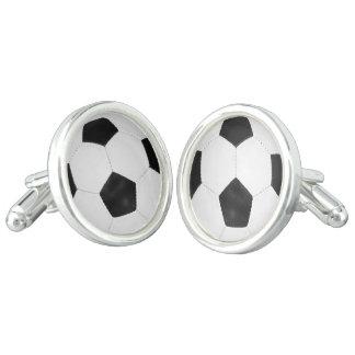 Sporty Soccer Soccor Ball Cufflinks