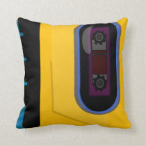 Sporty Tape Player Cushion