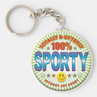 Sporty Totally Key Chain