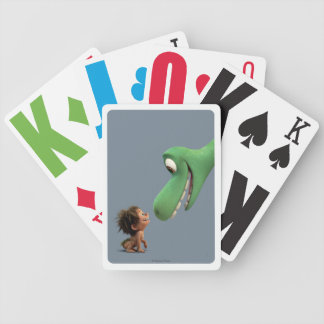 Spot And Arlo Closeup Bicycle Playing Cards