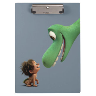 Spot And Arlo Closeup Clipboard