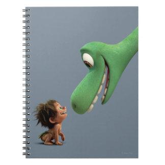 Spot And Arlo Closeup Spiral Notebook