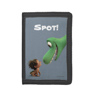 Spot And Arlo Closeup Trifold Wallets