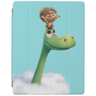 Spot And Arlo Head In Clouds iPad Cover