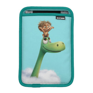 Spot And Arlo Head In Clouds iPad Mini Sleeve