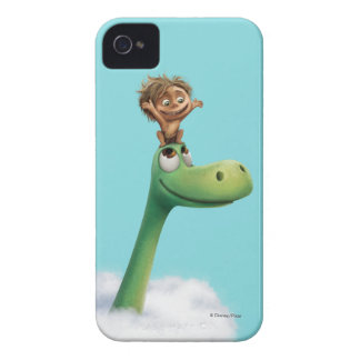 Spot And Arlo Head In Clouds iPhone 4 Cases