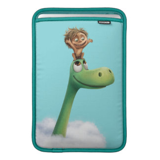 Spot And Arlo Head In Clouds Sleeve For MacBook Air