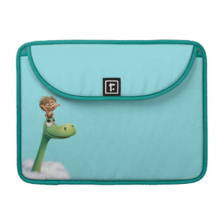 Spot And Arlo Head In Clouds Sleeve For MacBook Pro
