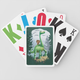 Spot And Arlo In Forest Bicycle Playing Cards
