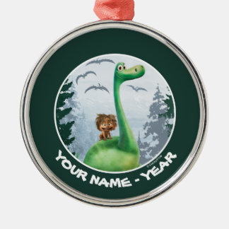 Spot And Arlo In Forest Christmas Ornament