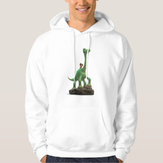 Spot And Arlo On Rock Hoodie