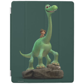 Spot And Arlo On Rock iPad Cover