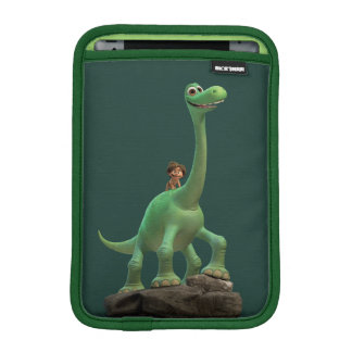 Spot And Arlo On Rock iPad Mini Sleeve