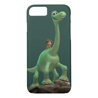 Spot And Arlo On Rock iPhone 8/7 Case
