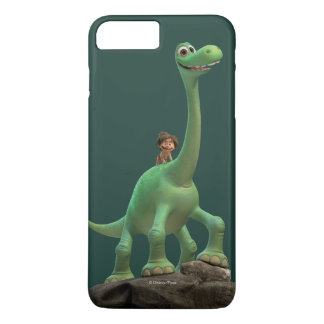 Spot And Arlo On Rock iPhone 8 Plus/7 Plus Case