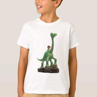 Spot And Arlo On Rock T-Shirt