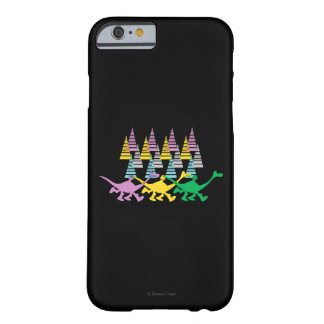 Spot and Arlo Purple Yellow Green Trees Barely There iPhone 6 Case
