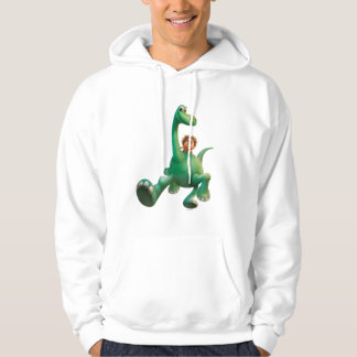 Spot And Arlo Walking Through Forest Hoodie