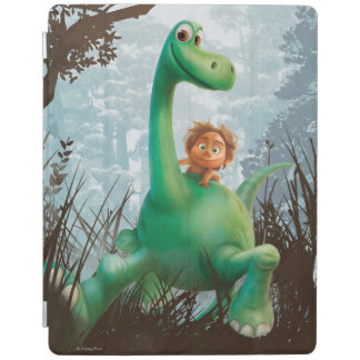 Spot And Arlo Walking Through Forest iPad Cover