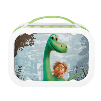 Spot And Arlo Walking Through Forest Lunch Box