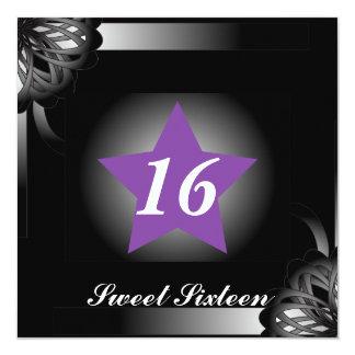 Spot Light Star Sweet Sixteen  -Customize Card