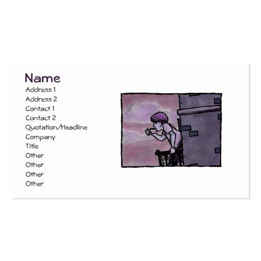 Spot of Java Profile Card Template Business Card