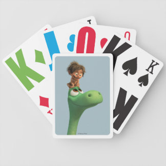 Spot On Arlo's Head Bicycle Playing Cards