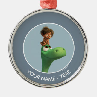Spot On Arlo's Head Christmas Ornament