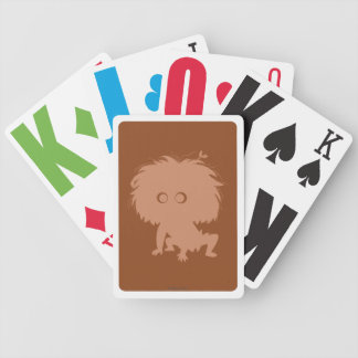 Spot Silhouette Bicycle Playing Cards