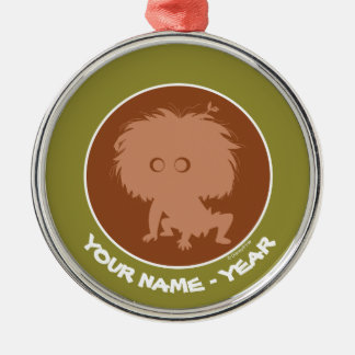 Spot Silhouette Christmas Ornament