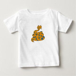 Spot the Snake Infant T-Shirt (Blue Spots)