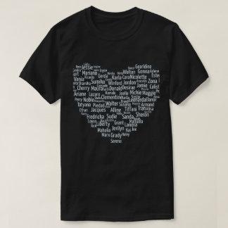 Spot Your Name - Name Cloud T-Shirt