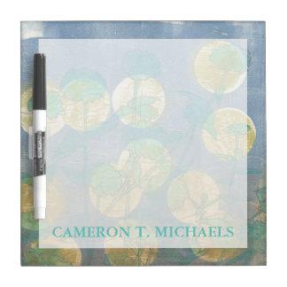 Spotlight Floral I Dry Erase Board