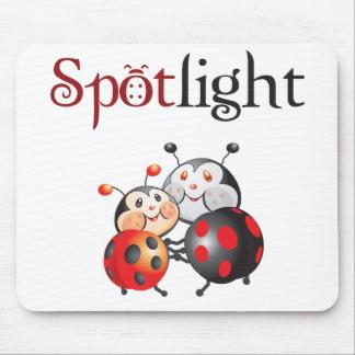 Spotlight Ladybug Mousepad
