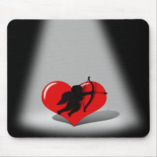 Spotlight on Cupid Mouse Pad