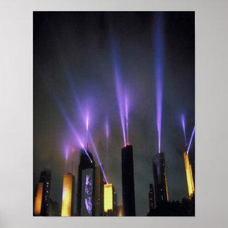 spotlight-on-skyscrapers poster