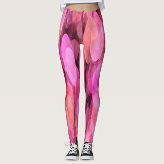Spotlight Pink Dance Leggings
