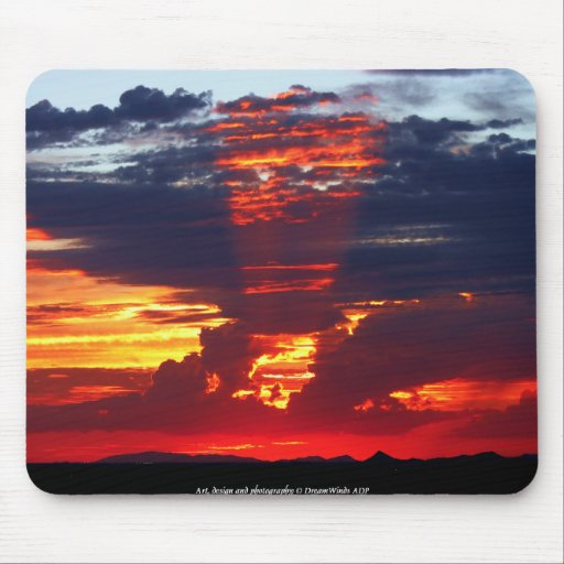 Spotlight Sunset Mouse Pad