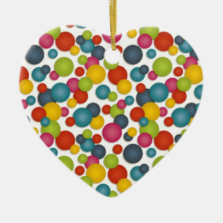 spots and dots christmas ornament