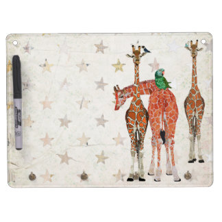 SPOTS & FEATHERS Dry Erase Board