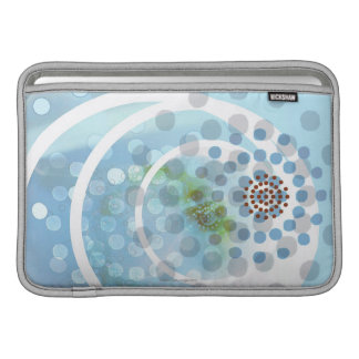 Spots in Circles MacBook Air Sleeve